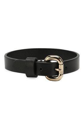 Женский кожаный браслет REDVALENTINO черного цвета, арт. RQ2J0A39/ETP | Фото 2