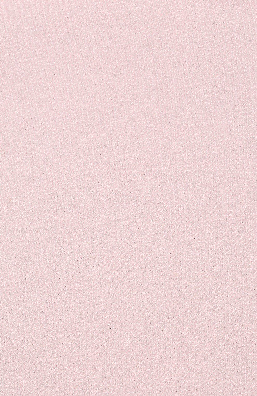 Детские хлопковые гольфы La Perla розового цвета | Фото №2