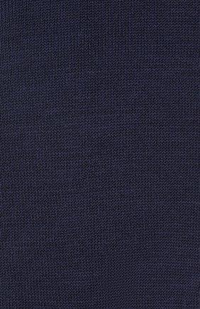 Детские хлопковые гольфы LA PERLA темно-синего цвета, арт. 42452/7-8 | Фото 2