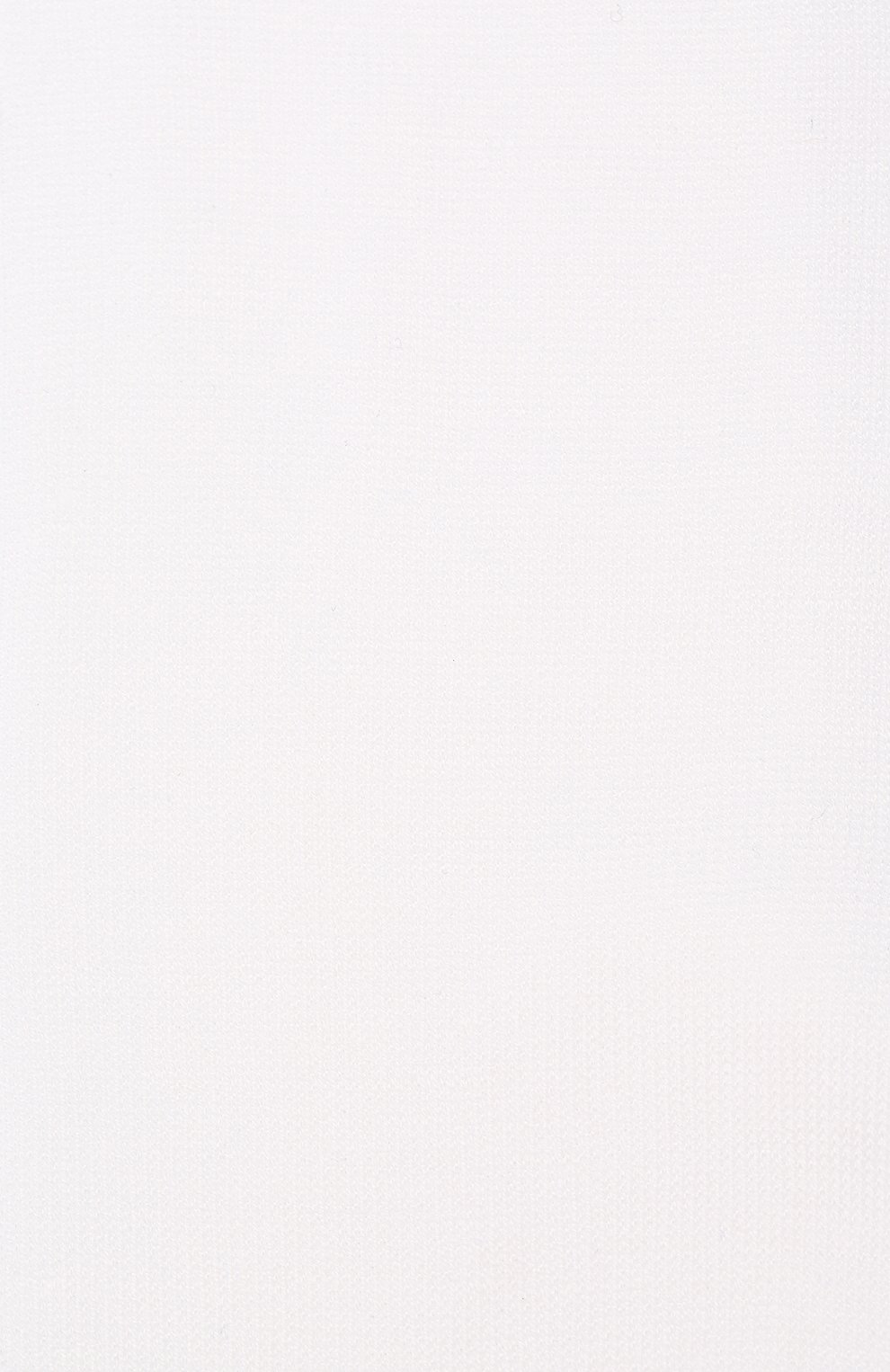Детские хлопковые гольфы LA PERLA белого цвета, арт. 42452/7-8 | Фото 2