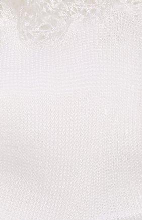 Детские хлопковые носки LA PERLA белого цвета, арт. 43455/4-6 | Фото 2