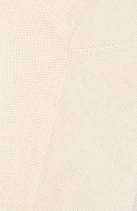 Детские хлопковые носки LA PERLA кремвого цвета, арт. 43455/7-9 | Фото 2