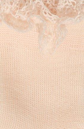 Детские хлопковые носки LA PERLA розового цвета, арт. 43455/7-9 | Фото 2