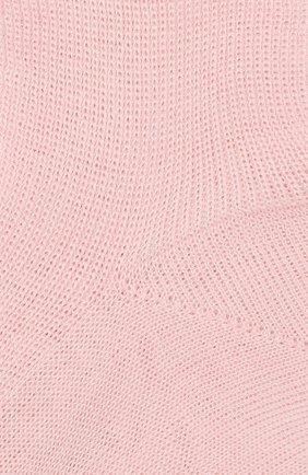 Детские хлопковые носки LA PERLA розового цвета, арт. 43919/4-6 | Фото 2