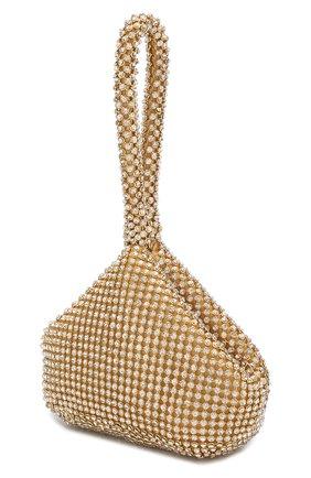 Детская сумка с отделкой кристаллами DAVID CHARLES золотого цвета, арт. 2604   Фото 2