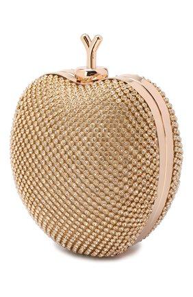 Детская сумка с отделкой кристаллами DAVID CHARLES золотого цвета, арт. 2605   Фото 2