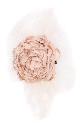 Детская заколка для волос DESIGNERS CAT бежевого цвета, арт. 100000K01000110 | Фото 1