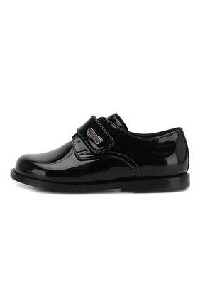 Детские кожаные туфли MISSOURI черного цвета, арт. 3735/18-26 | Фото 2