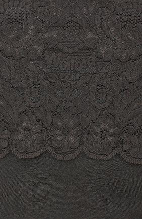 Женские капроновые чулки WOLFORD бежевого цвета, арт. 21223 | Фото 2