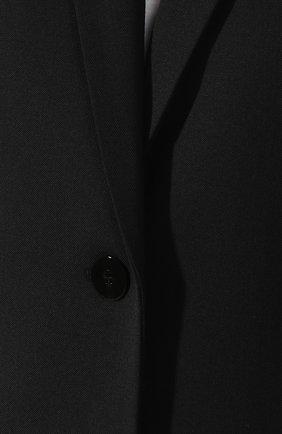 Однобортный жакет Alexander Wang черный   Фото №5