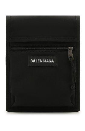 Мужская текстильная сумка explorer BALENCIAGA черного цвета, арт. 532298/9TYY5   Фото 1