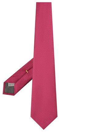 Мужской шелковый галстук CANALI красного цвета, арт. 18/HJ01047 | Фото 2