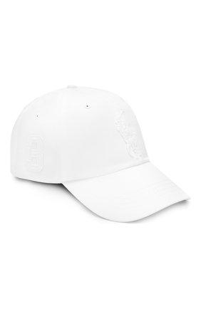 Мужской хлопковая бейсболка  POLO RALPH LAUREN белого цвета, арт. 710673584 | Фото 1