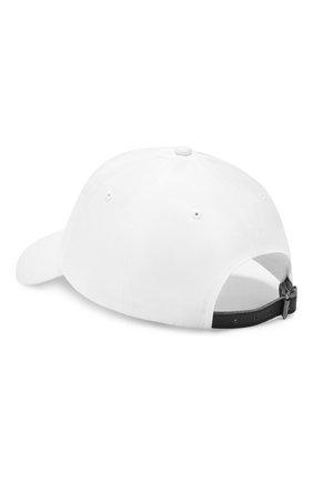 Мужской хлопковая бейсболка  POLO RALPH LAUREN белого цвета, арт. 710673584 | Фото 2