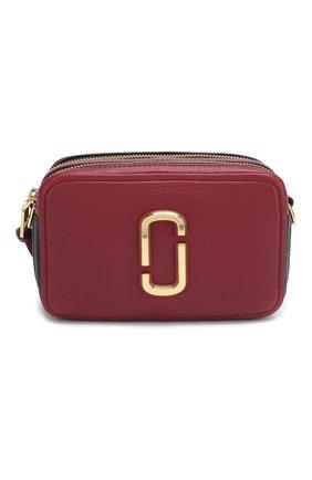 Женская сумка the softshot 21 MARC JACOBS (THE) бордового цвета, арт. M0014591 | Фото 1