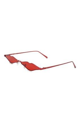 Солнцезащитные очки Roberi & Fraud красные | Фото №1
