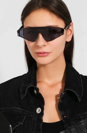 Женские солнцезащитные очки SPEKTRE черного цвета, арт. VINCENT 01AFT | Фото 2