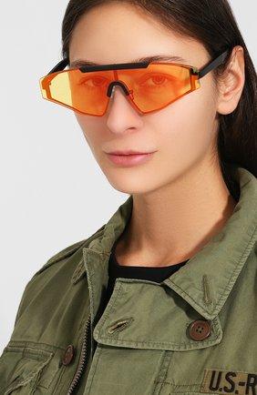 Женские солнцезащитные очки SPEKTRE желтого цвета, арт. VINCENT 02AFT | Фото 2