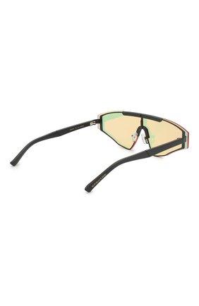 Женские солнцезащитные очки SPEKTRE желтого цвета, арт. VINCENT 02AFT | Фото 4