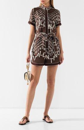 Кожаные шлепанцы Marmont Gucci бордовые | Фото №2