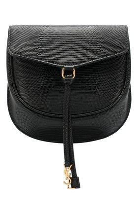 Женская сумка datcha small  SAINT LAURENT черного цвета, арт. 551559/01I0J   Фото 1