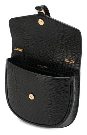 Женская сумка datcha small  SAINT LAURENT черного цвета, арт. 551559/01I0J   Фото 4