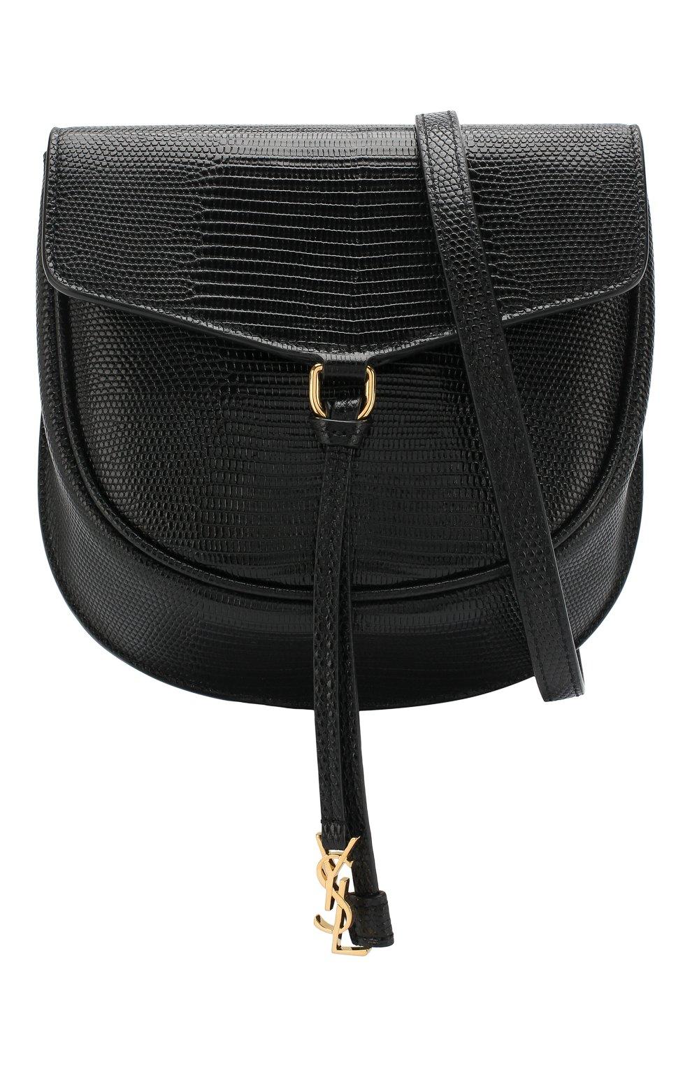 Женская сумка datcha small  SAINT LAURENT черного цвета, арт. 551559/01I0J   Фото 5