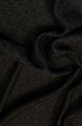 Мужской шарф из смеси шерсти и шелка с кашемиром BOTTEGA VENETA зеленого цвета, арт. 498176/4V708 | Фото 2