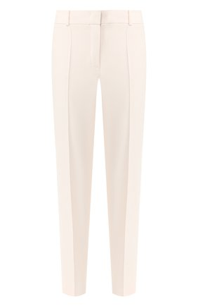 Женские брюки из смеси шелка и шерсти LORO PIANA розового цвета, арт. FAI5260   Фото 1
