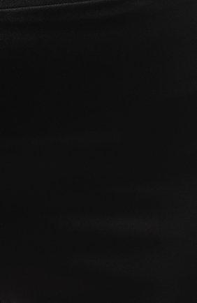 Женские шелковые шорты COTTON CLUB черного цвета, арт. 6ZM | Фото 5 (Материал внешний: Шелк; Длина Ж (юбки, платья, шорты): Мини)