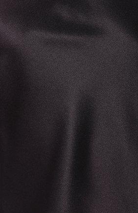 Женская шелковый топ COTTON CLUB черного цвета, арт. 7ZM | Фото 5 (Материал внешний: Шелк; Женское Кросс-КТ: Топы; Рукава: Короткие; Длина (для топов): Стандартные; Статус проверки: Проверено, Проверена категория)