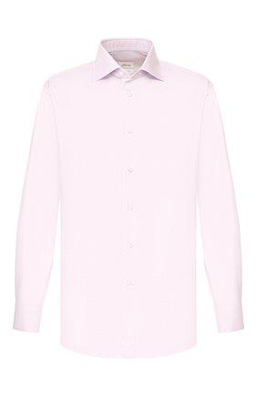 Мужская хлопковая сорочка BRIONI светло-розового цвета, арт. RCLU1Y/P7003 | Фото 1