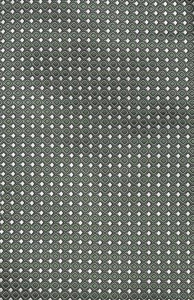Мужской шелковый платок GIORGIO ARMANI зеленого цвета, арт. 360023/9P931 | Фото 2