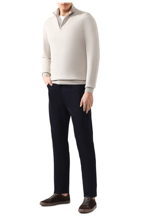 Мужской кашемировый джемпер LORO PIANA светло-бежевого цвета, арт. FAI0190 | Фото 2