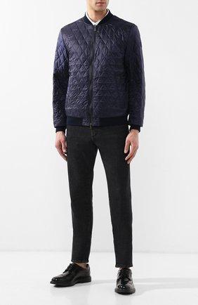 Мужские кожаные дерби  HOGAN черного цвета, арт. HXM3930BH706Q6 | Фото 2