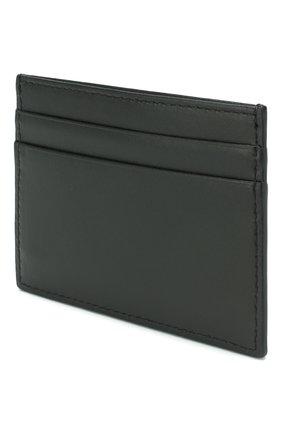 Мужской кожаный футляр для кредитных карт DOLCE & GABBANA черного цвета, арт. BP0330/AZ106 | Фото 2