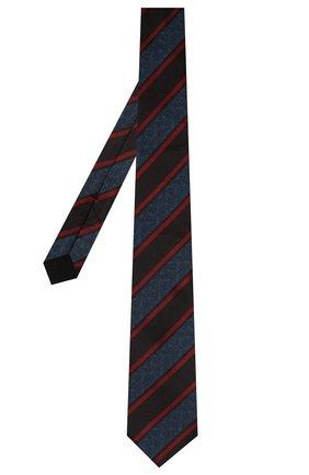 Мужской шелковый галстук BOTTEGA VENETA разноцветного цвета, арт. 546661/4V002   Фото 2