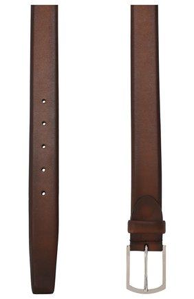 Мужской кожаный ремень BARRETT светло-коричневого цвета, арт. 31B336.33/C0RSAR0 | Фото 2