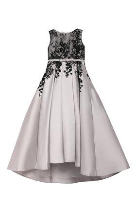 Платье-макси с вышивкой | Фото №1