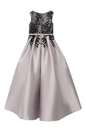 Платье-макси с вышивкой | Фото №2