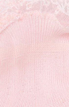 Детские хлопковые носки LA PERLA розового цвета, арт. 43919/000-0 | Фото 2