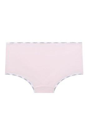 Детские хлопковые трусы LA PERLA розового цвета, арт. 51307/8A-14A | Фото 2