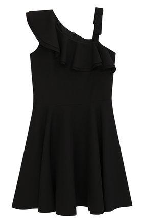 Платье с открытым плечом | Фото №1
