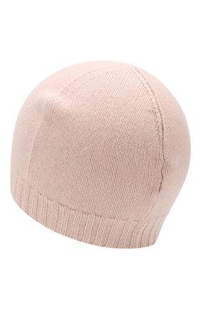 Детского кашемировая шапка GIORGETTI CASHMERE розового цвета, арт. M13363/2A-6A | Фото 2