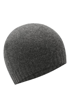 Детского кашемировая шапка GIORGETTI CASHMERE темно-серого цвета, арт. M13363/2A-6A | Фото 1