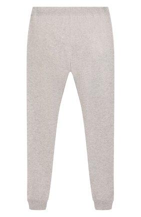 Детские кашемировые брюки Giorgetti Cashmere светло-серого цвета   Фото №2