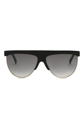 Женские солнцезащитные очки GIVENCHY черного цвета, арт. 7118/G J5G | Фото 4