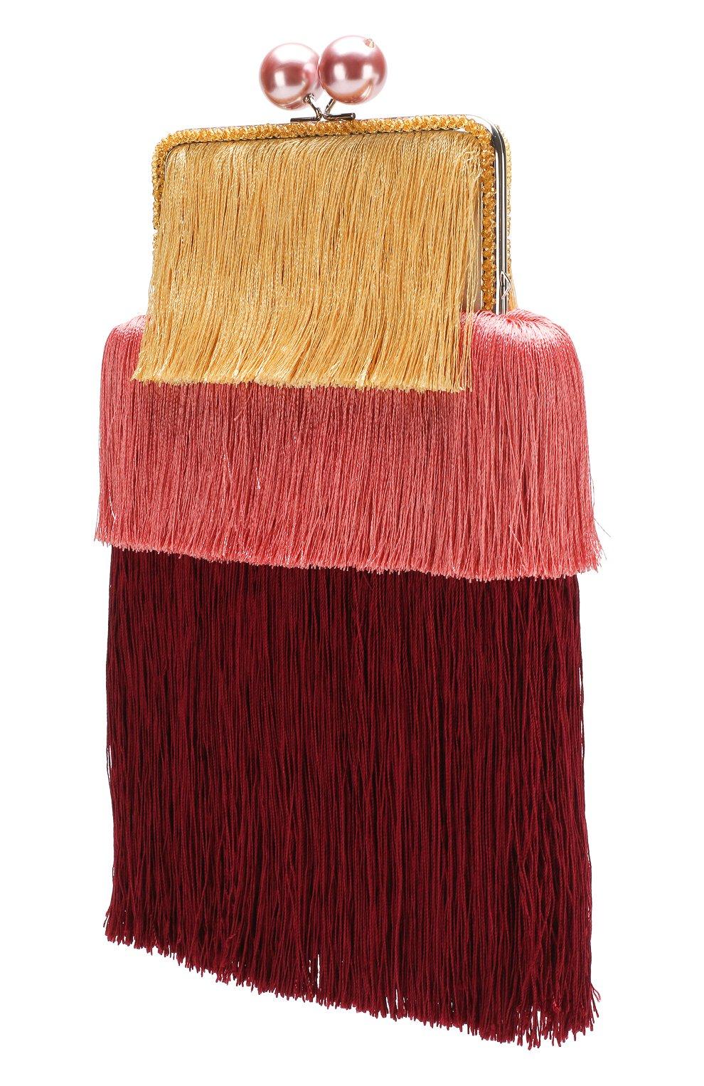 Клатч Barbara Esve разноцветного цвета | Фото №3