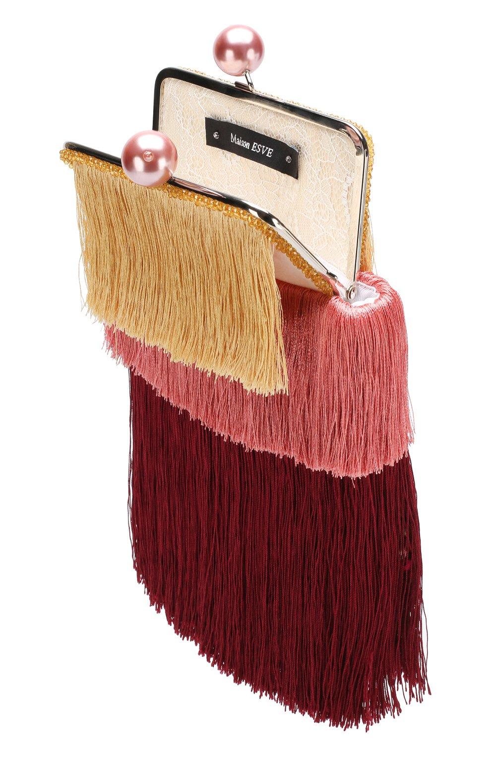 Клатч Barbara Esve разноцветного цвета | Фото №4