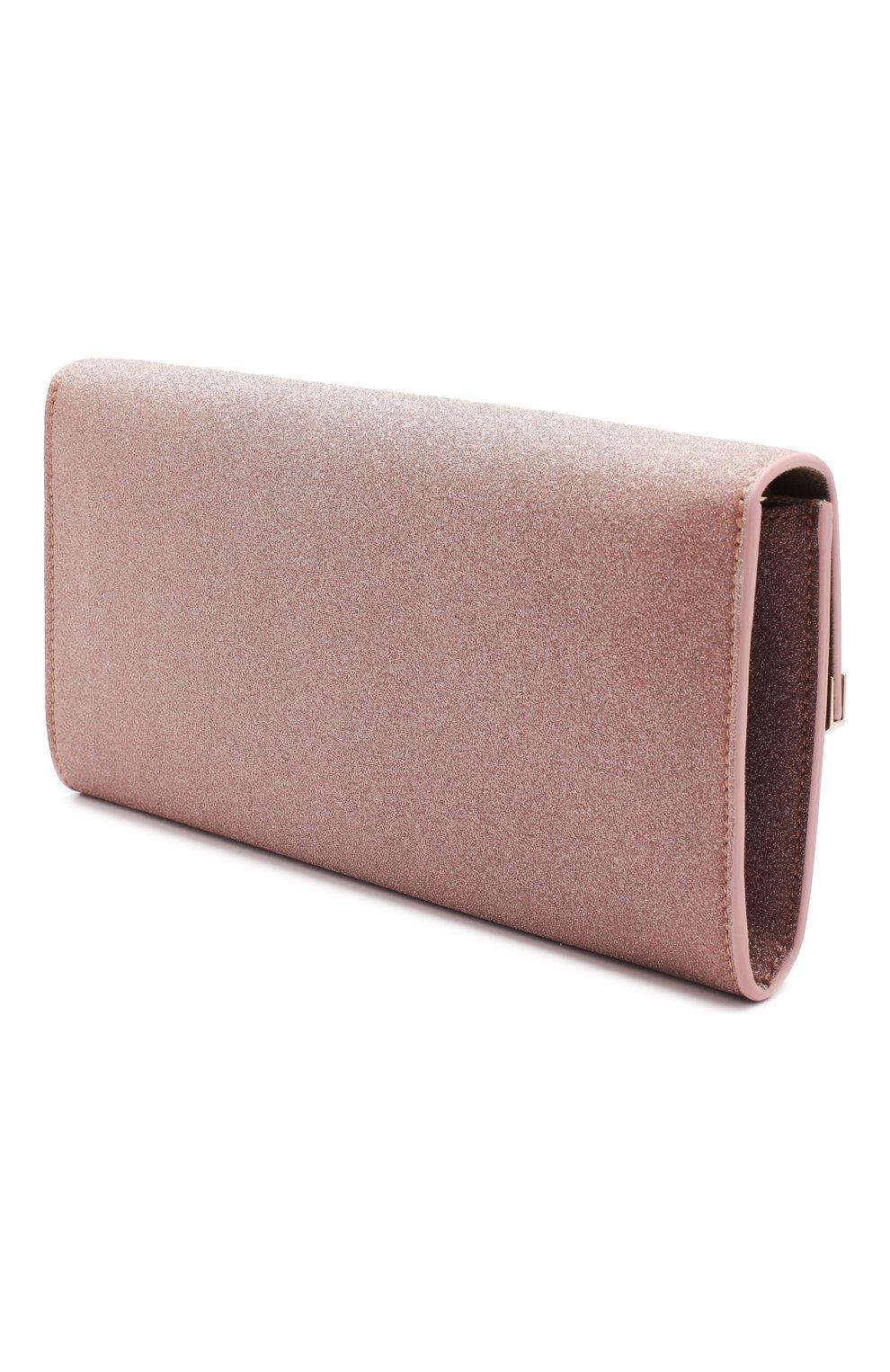 Клатч Emmie Jimmy Choo розового цвета | Фото №3